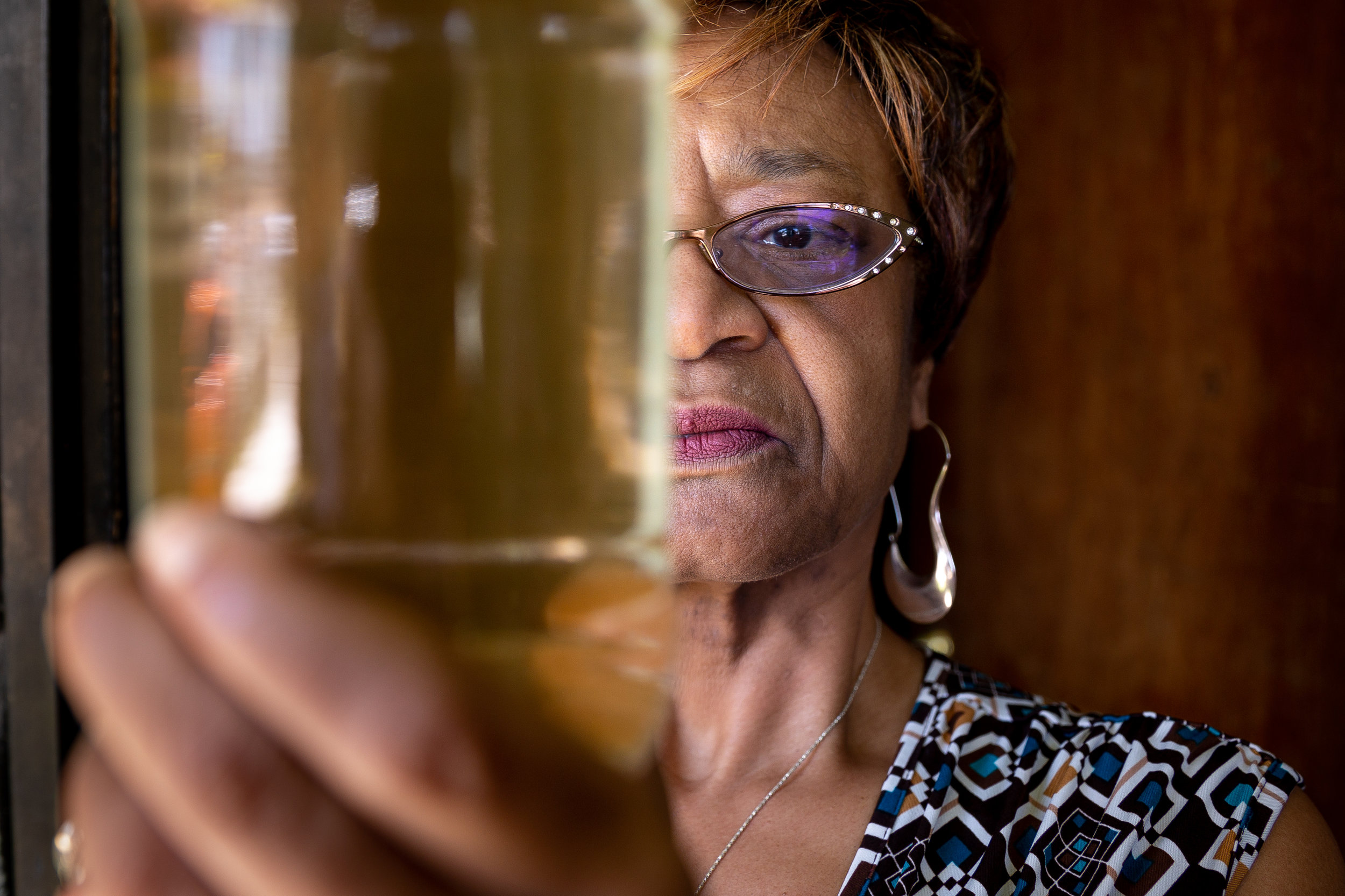 Brown Tap Water in Compton