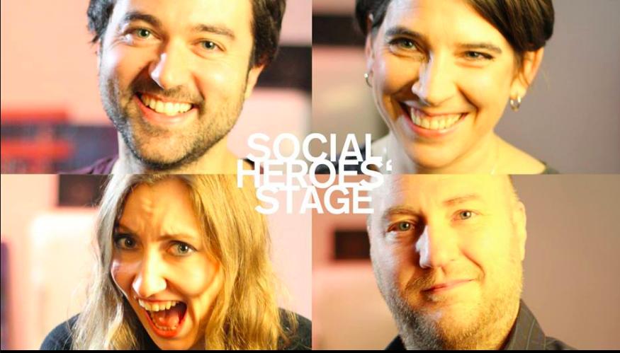 Social Heroes' Stage Improbanden