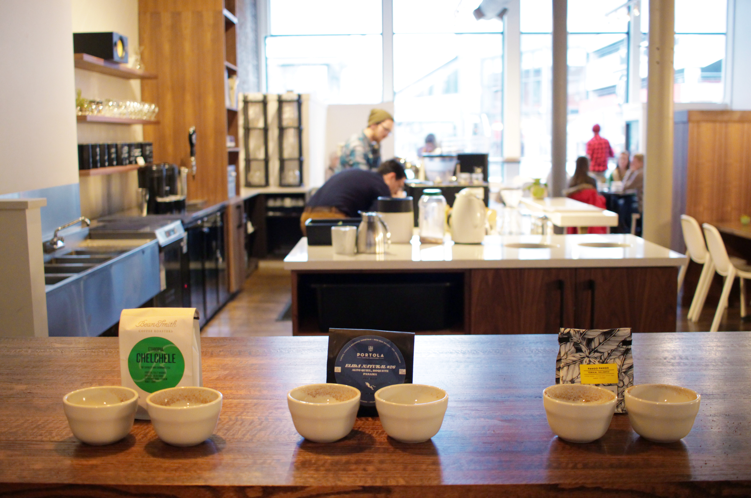 Beansmith Coffee Roasters' Harney Street location in downtown Omaha