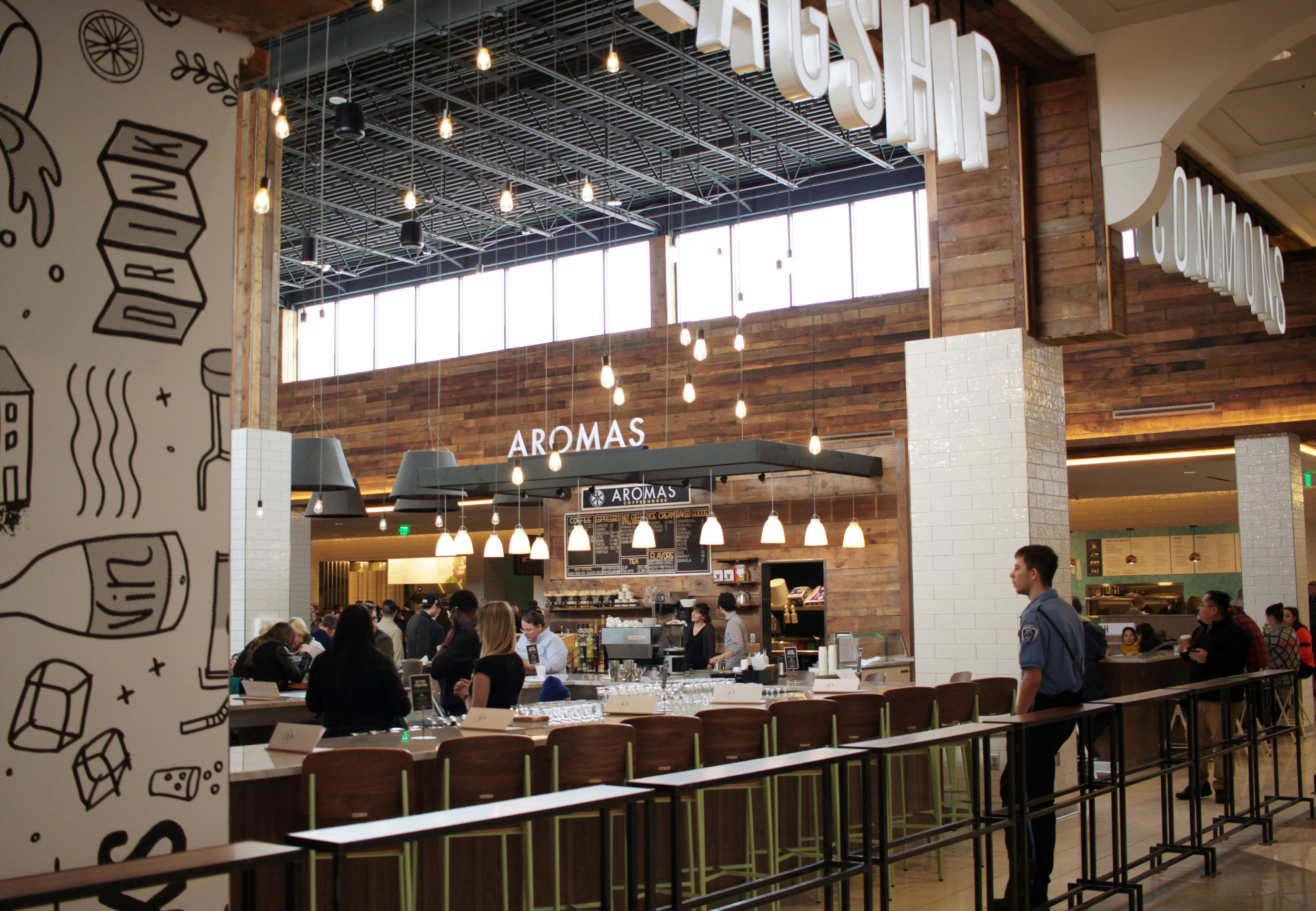 Aromas Coffeehouse at Flagship Commons