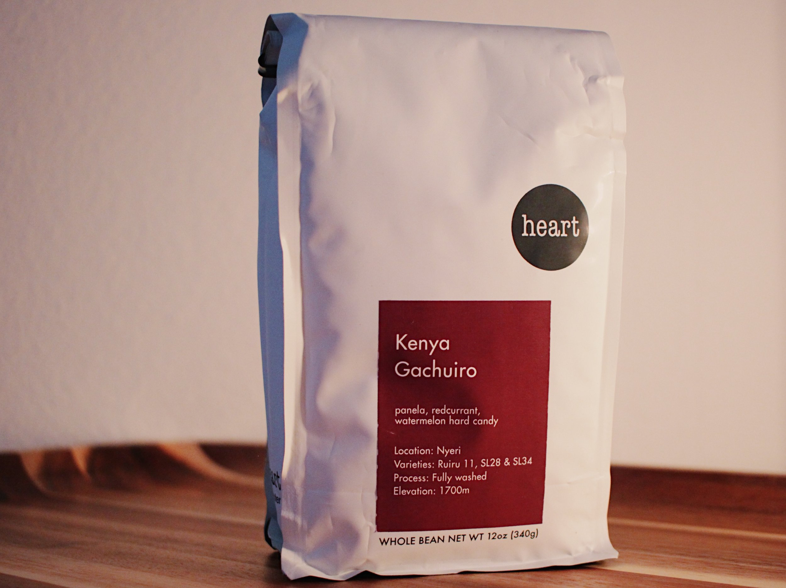 Kenya Gachuiro from Heart Roasters in Portland, Oregon