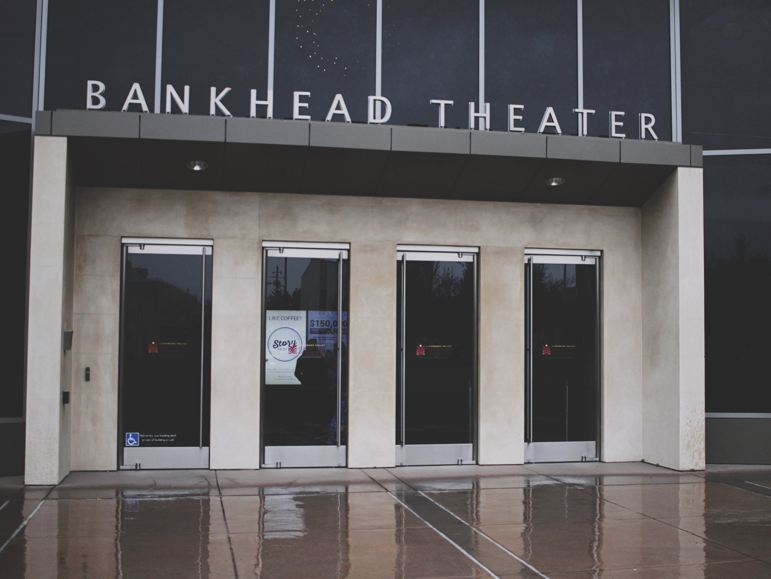 Bankhead Theater in Livermore, home to Story Coffee's Friday and Saturday pop-up cafe.