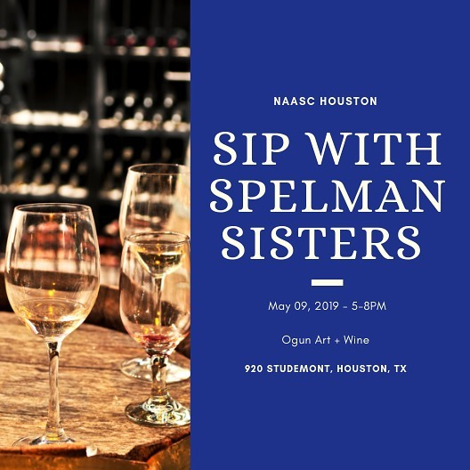Join #NAASCHouston this Thursday at @ogunartwine for a chapter meet up!