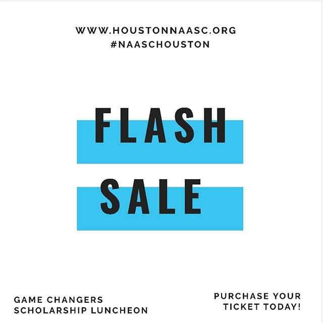 #GAMECHANGERS is a scholarship fundraiser to capitalize an endowment for young women in the Houston area who will attend Spelman in Fall 2019 and beyond.  We are offering a $25 discount on all individual tickets for 24 hours. Enter code 350SPELMAN at checkout!  Visit www.houstonnaasc.org to purchase your ticket or make a donation today!