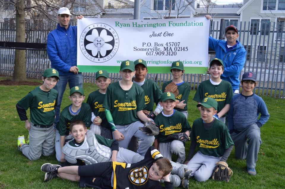 Somerville Little League - Ryan Harrington Foundation Major League Baseball Team