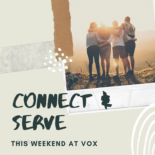 #connect and #serve this weekend with VOX — sign up for a Saturday service project #linkinbio and join us Sunday for a 10am hike at #oakcanyonnaturecenter (no Community Center this week!)
