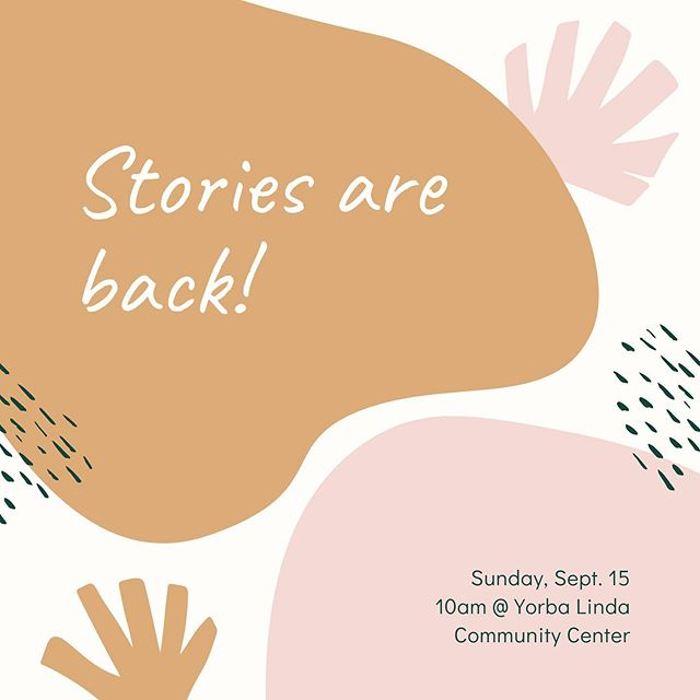 See you tomorrow! Stories, dialogue and 🍩 🍩 🍩