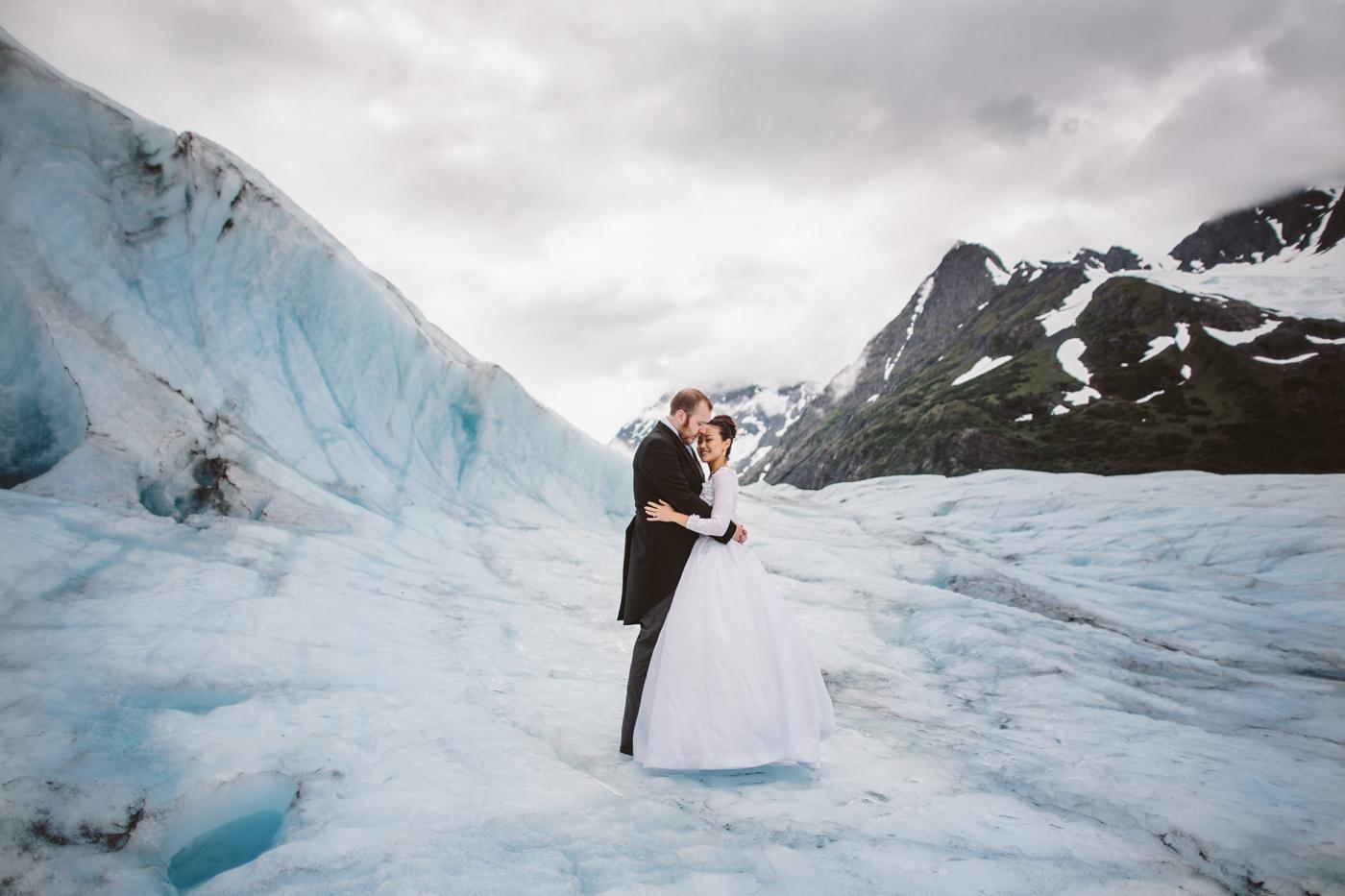 Alaskan Glacier Wedding