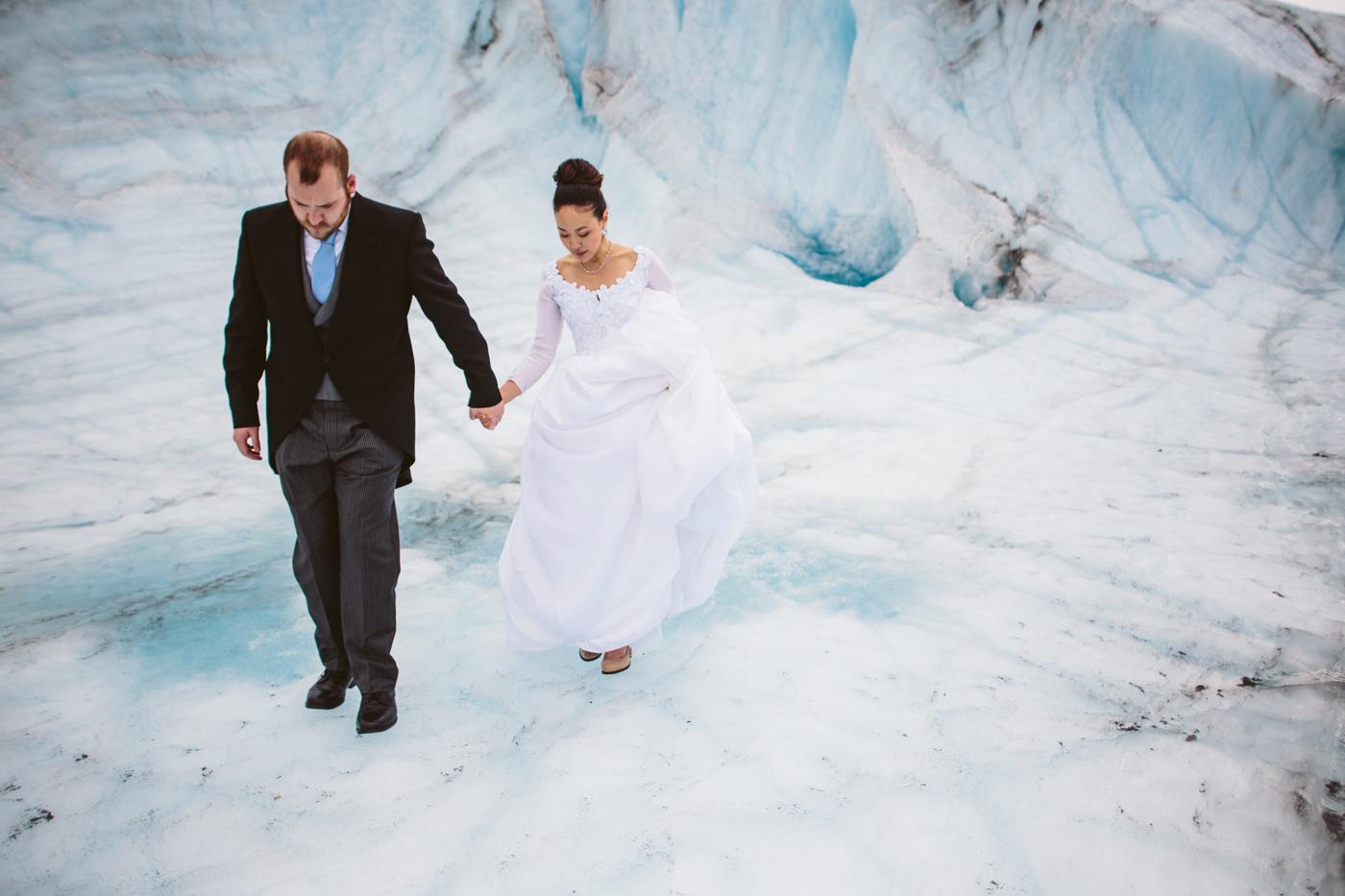 Glacier Wedding Photos
