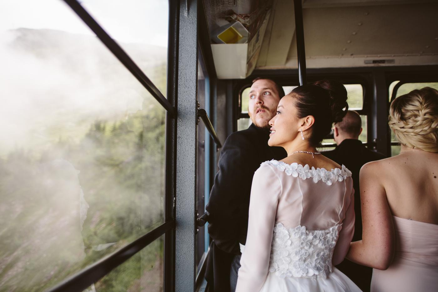Alyeska Tramway Wedding