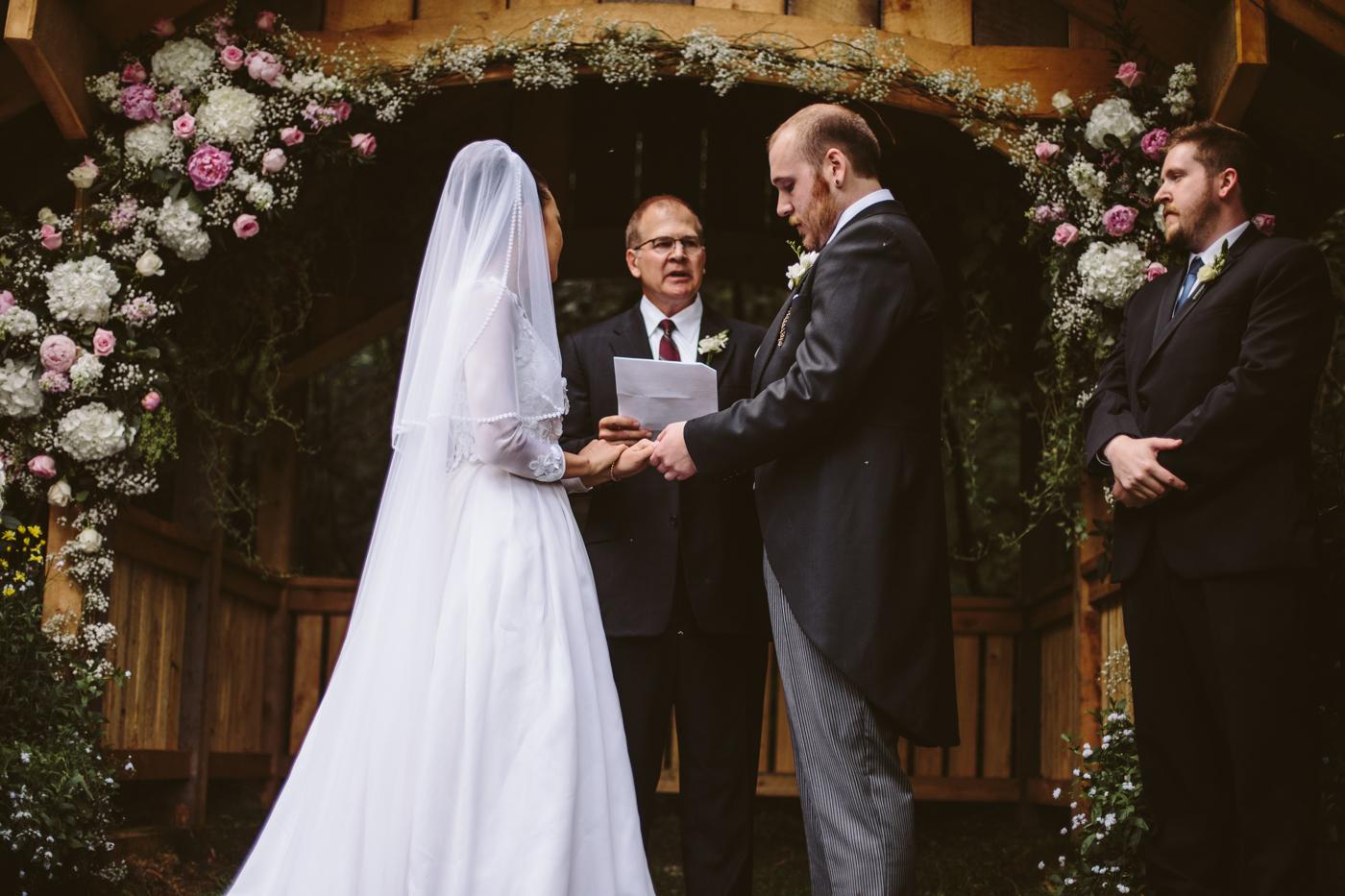 Elegant Alaskan Wedding