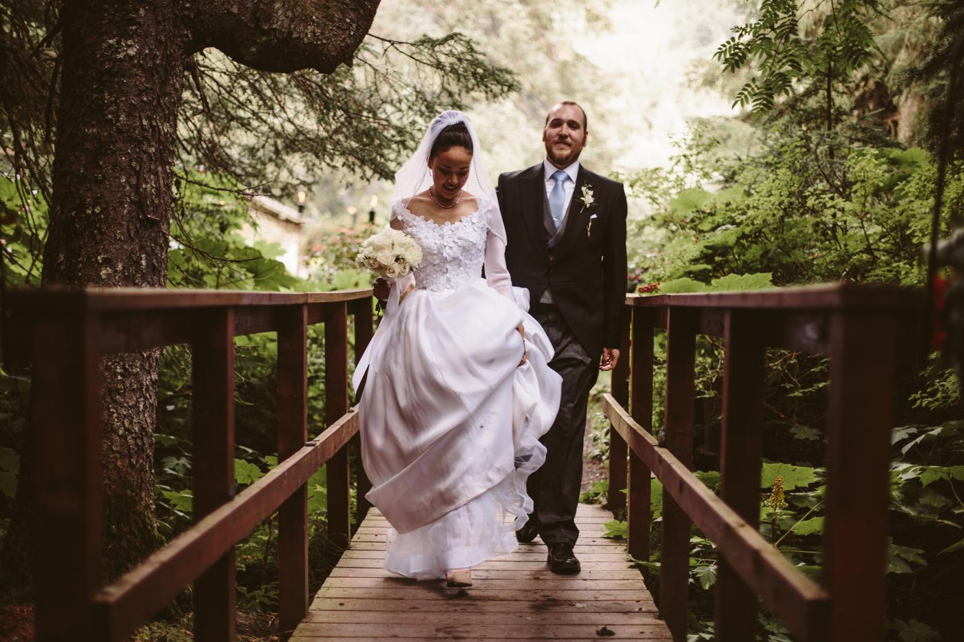 Alaska Adventure Wedding