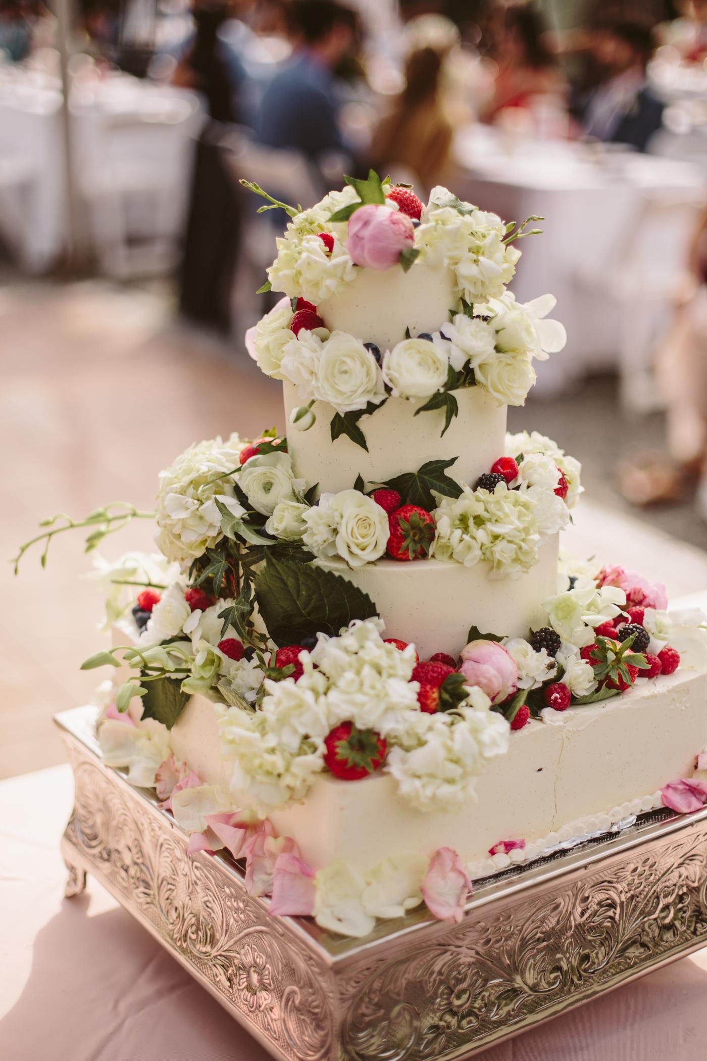 Fire Island Bakery Wedding Cake