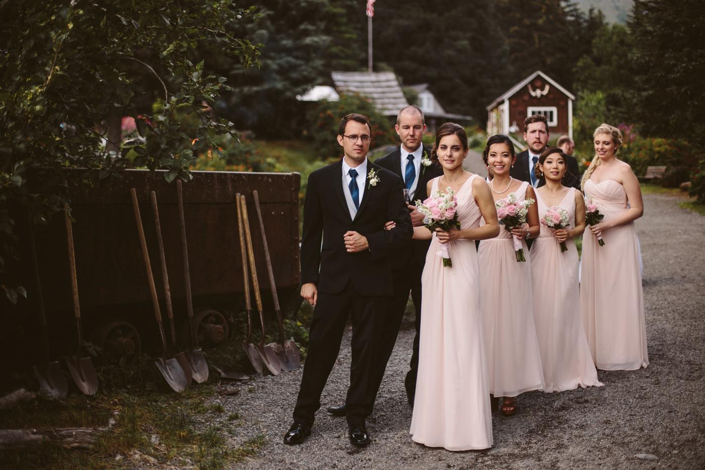 Alaskan Wedding Photos