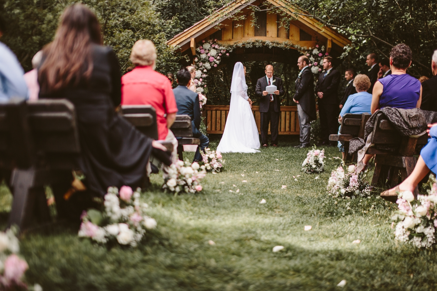 Girdwood Alaska Wedding
