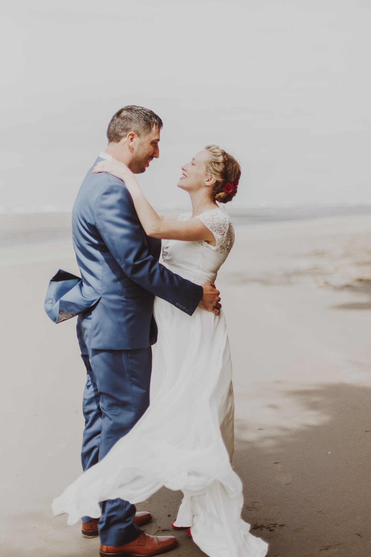 Washington coast elopement