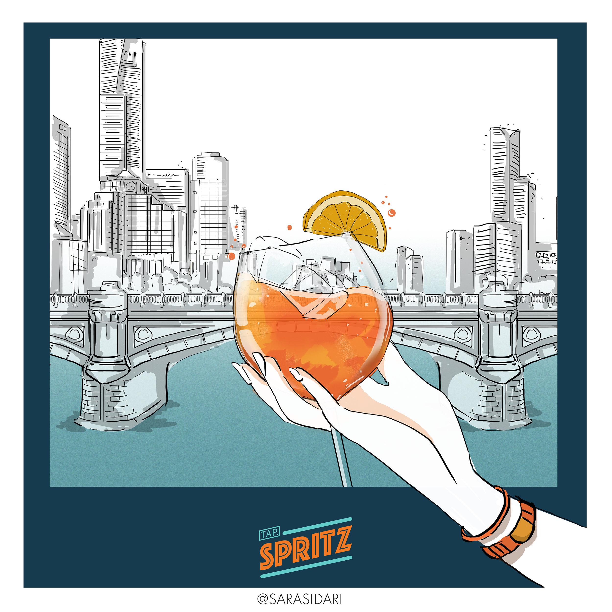 spritz tap branding illustrations02.jpg