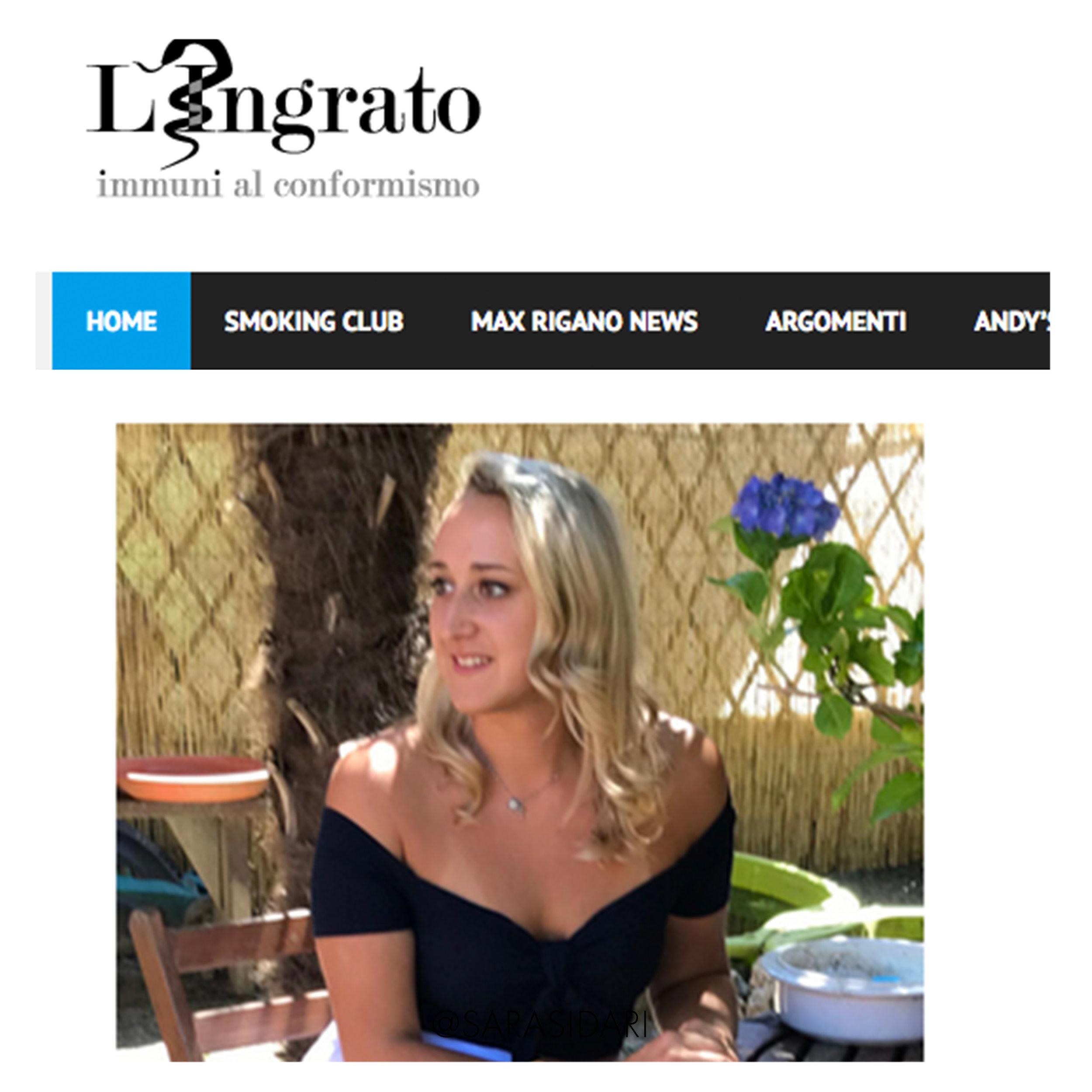 lingrato interview with sara sidari.jpg