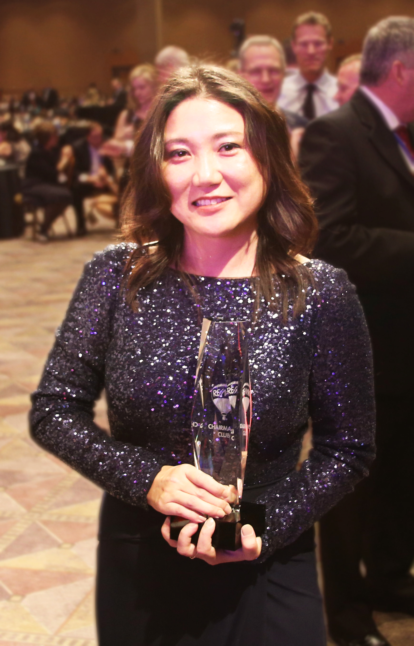 Award Night, R4 Convention, Las Vegas, Nevada. Erika Shinzato