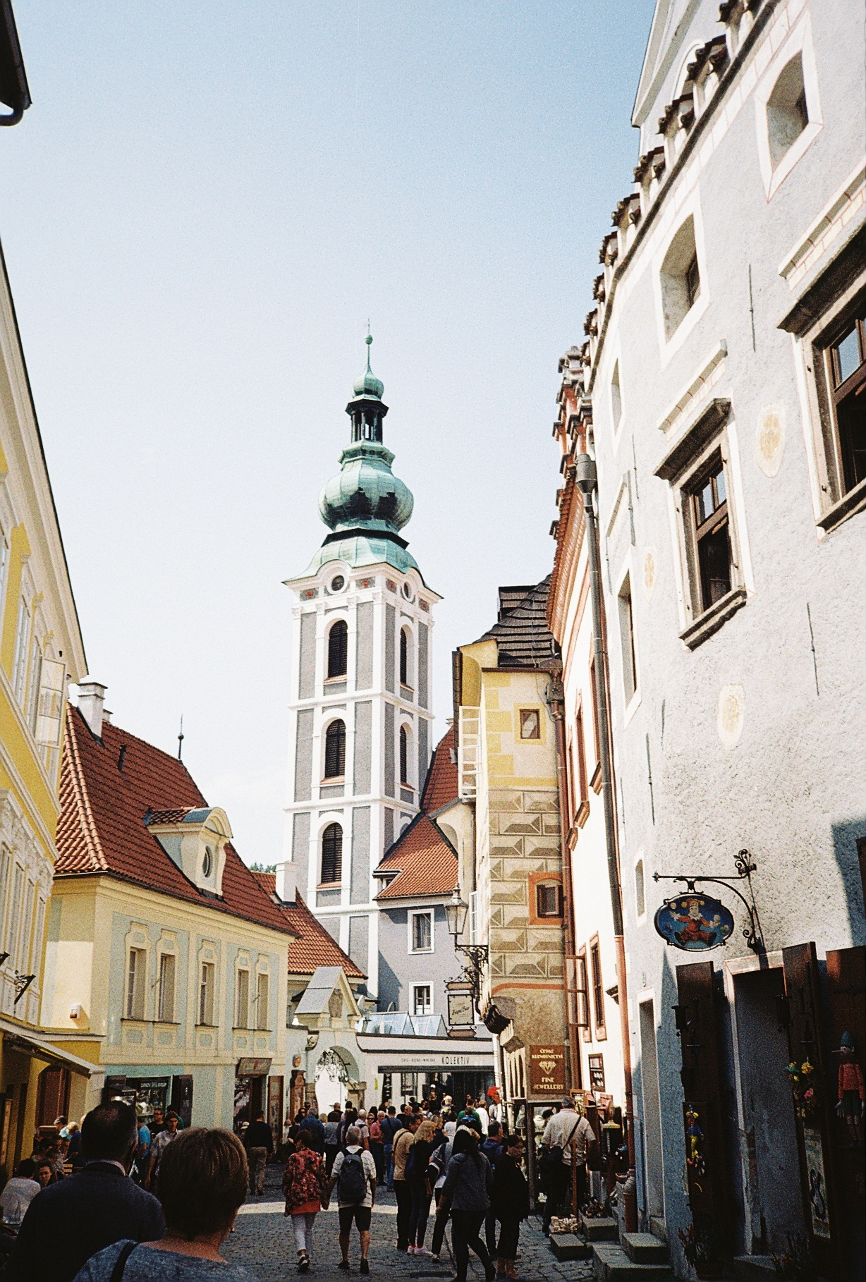 Český Krumlov, Czech Republic.