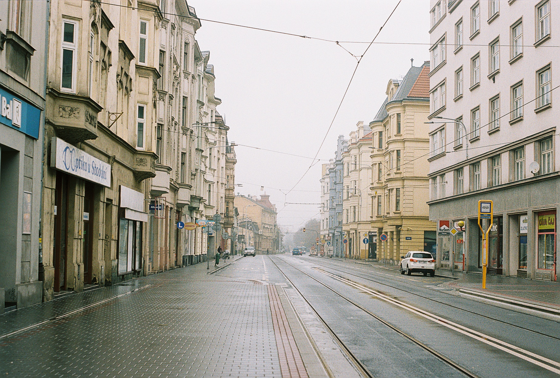 Ostrava on a Saturday.