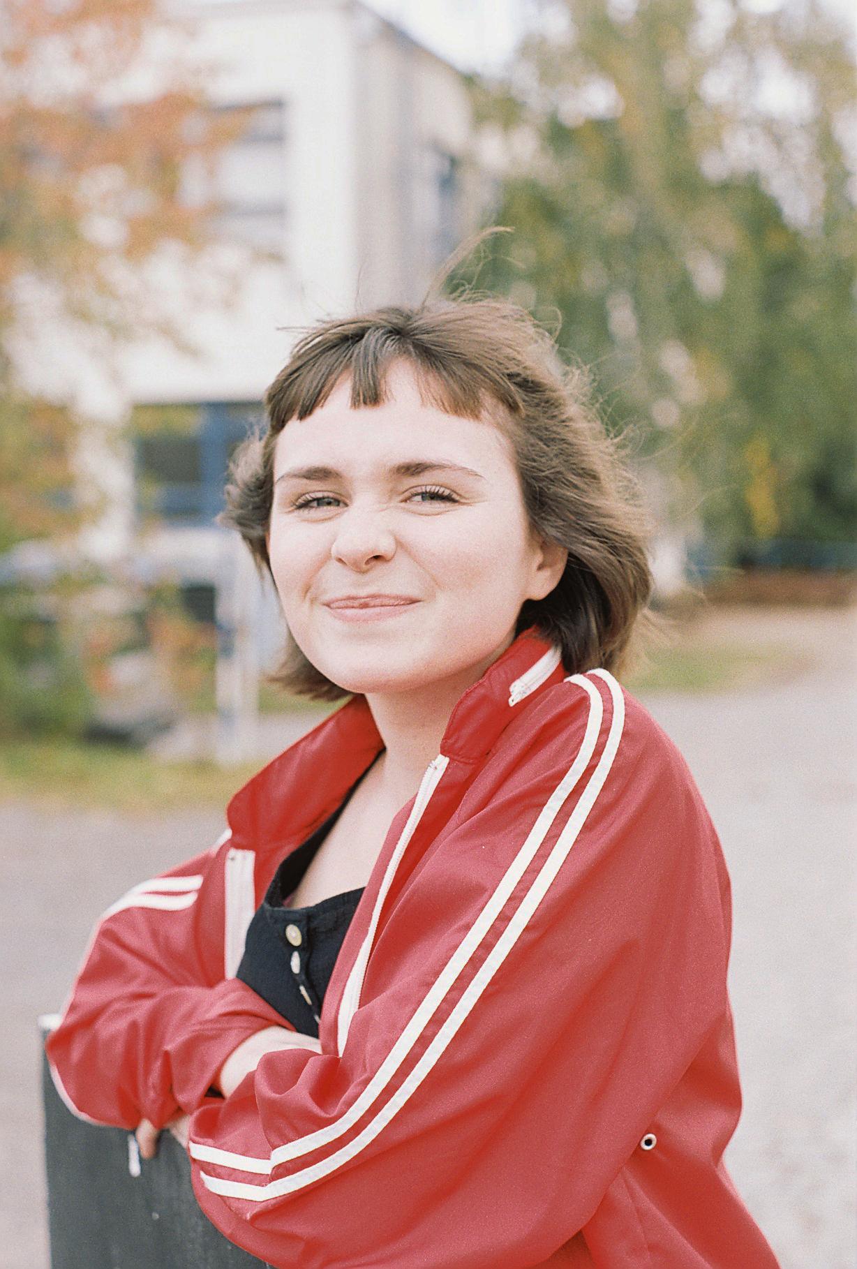 Linnea Nugent at Barrandov Studios.