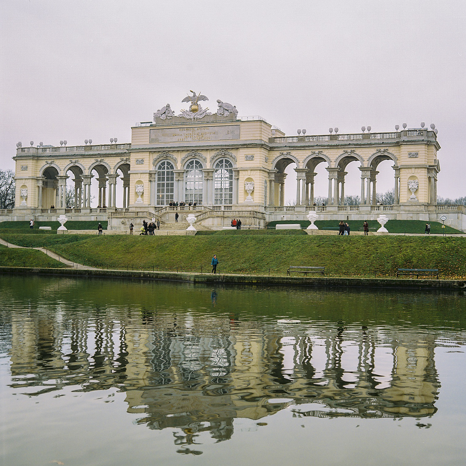 Gloriette in Vienna, Austria.