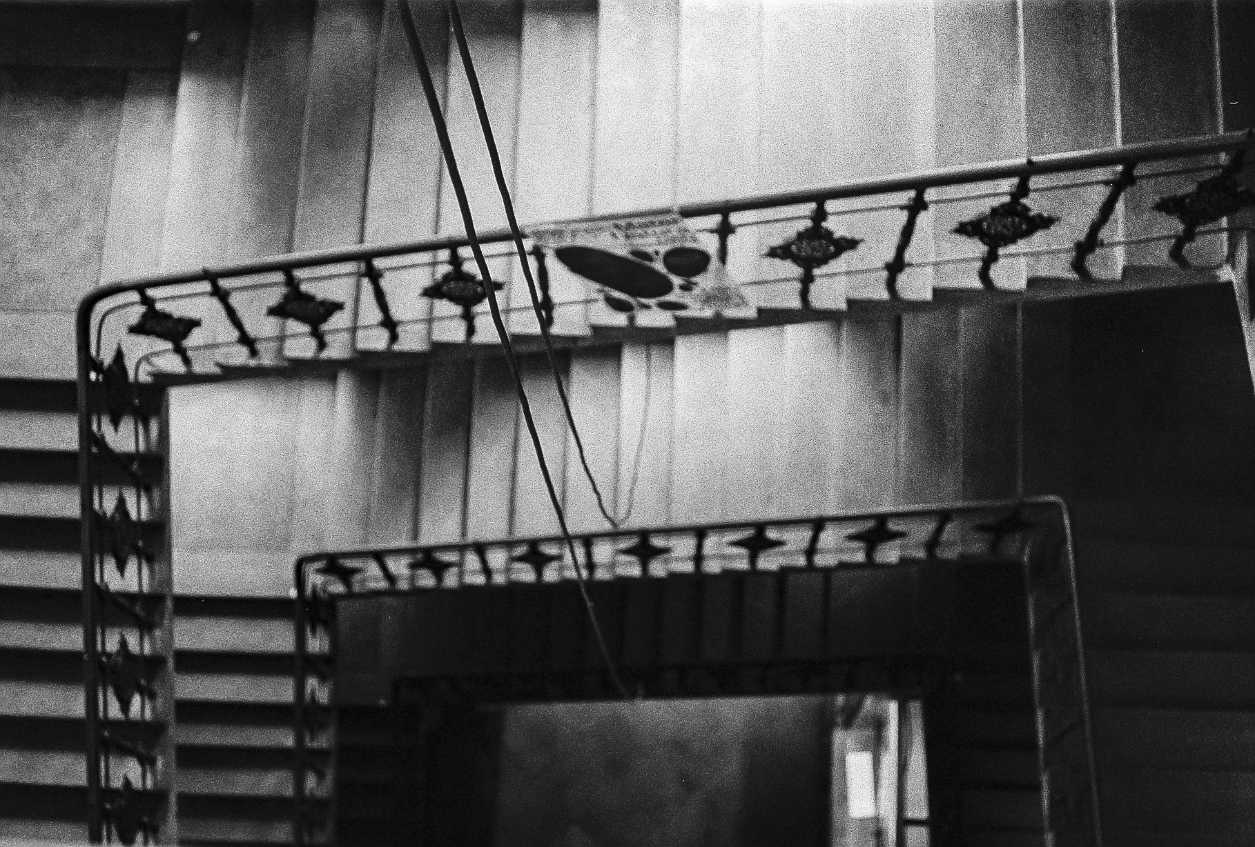 Stairwell in FAMU.
