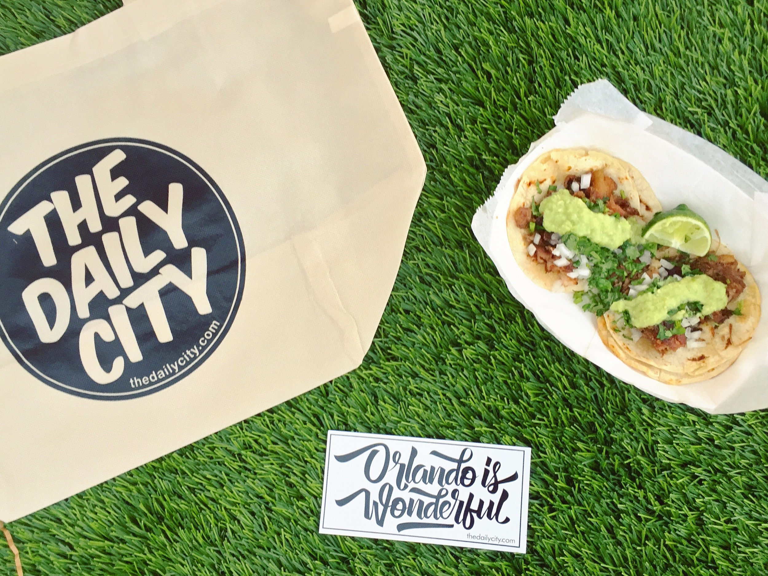The Daily City + Hunger Street Tacos // Some of my favorite things at the Audubon Park Community Market. #ORLANDOISWONDERFUL