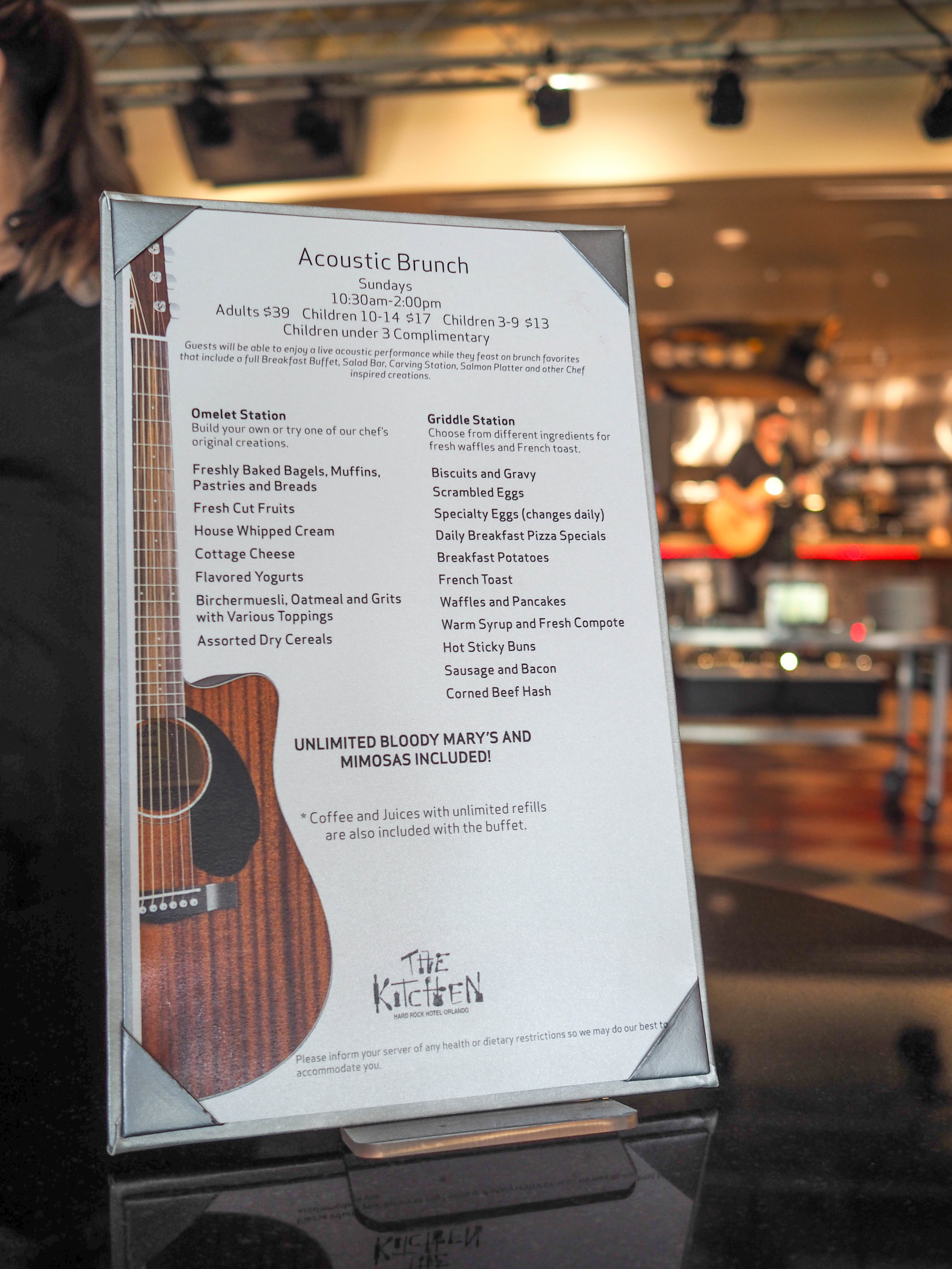 New Acoustic Brunch At Hard Rock Hotel Orlando The Orlando Girl