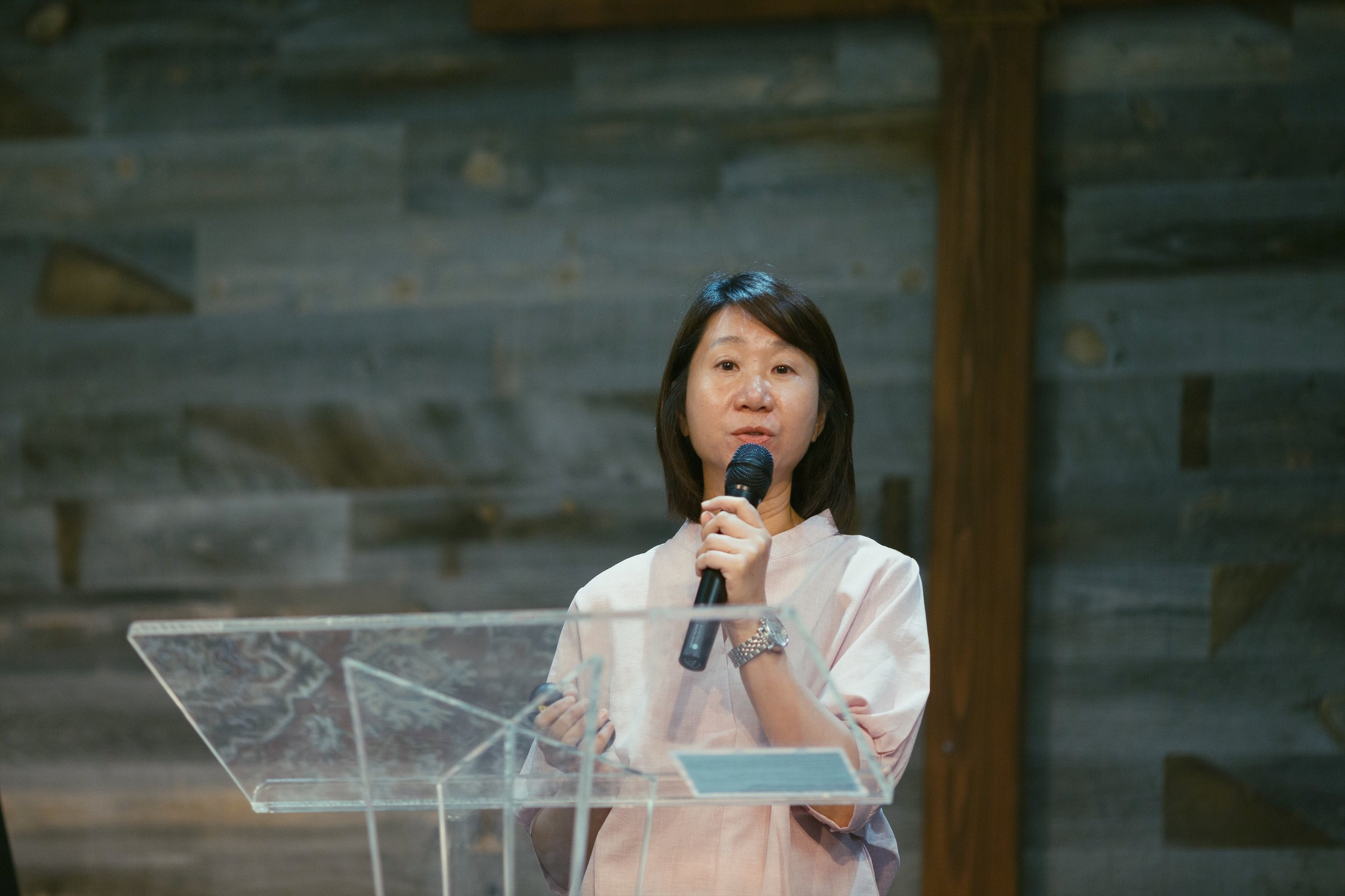 Pastor Marian shared with her mission in Cambodia - Cana Glory Community Center