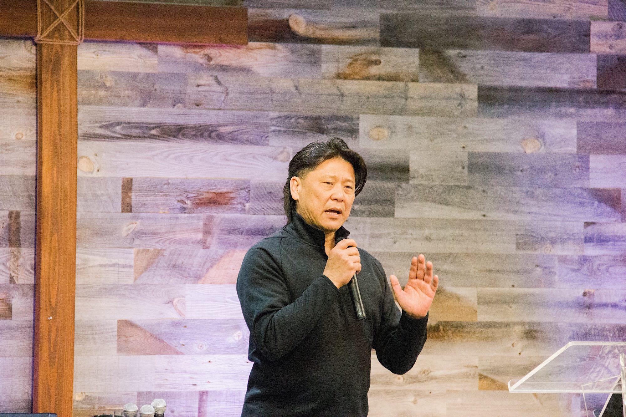 Pastor Roger's sharing