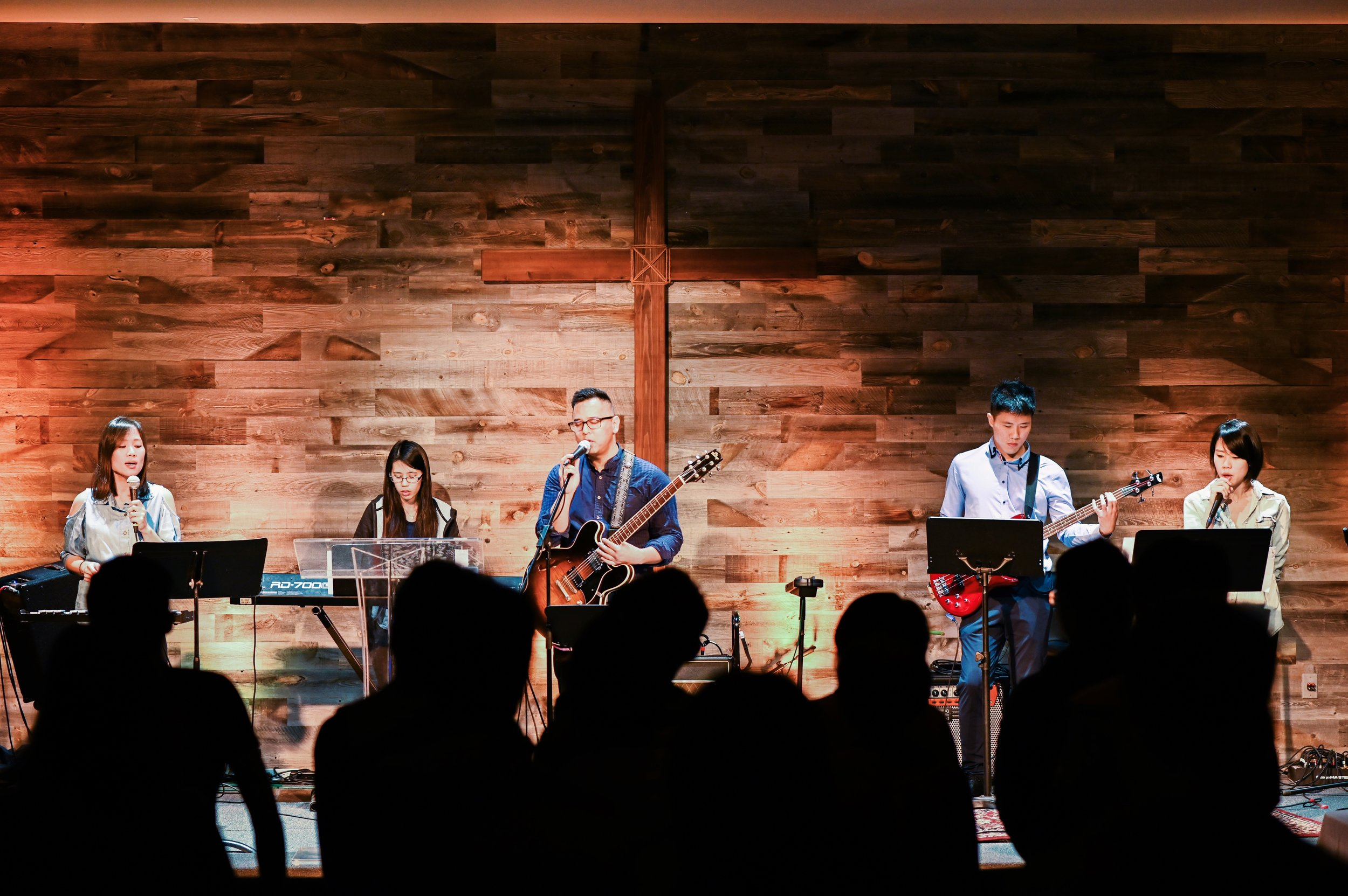 Our worship team did an awesome job today!