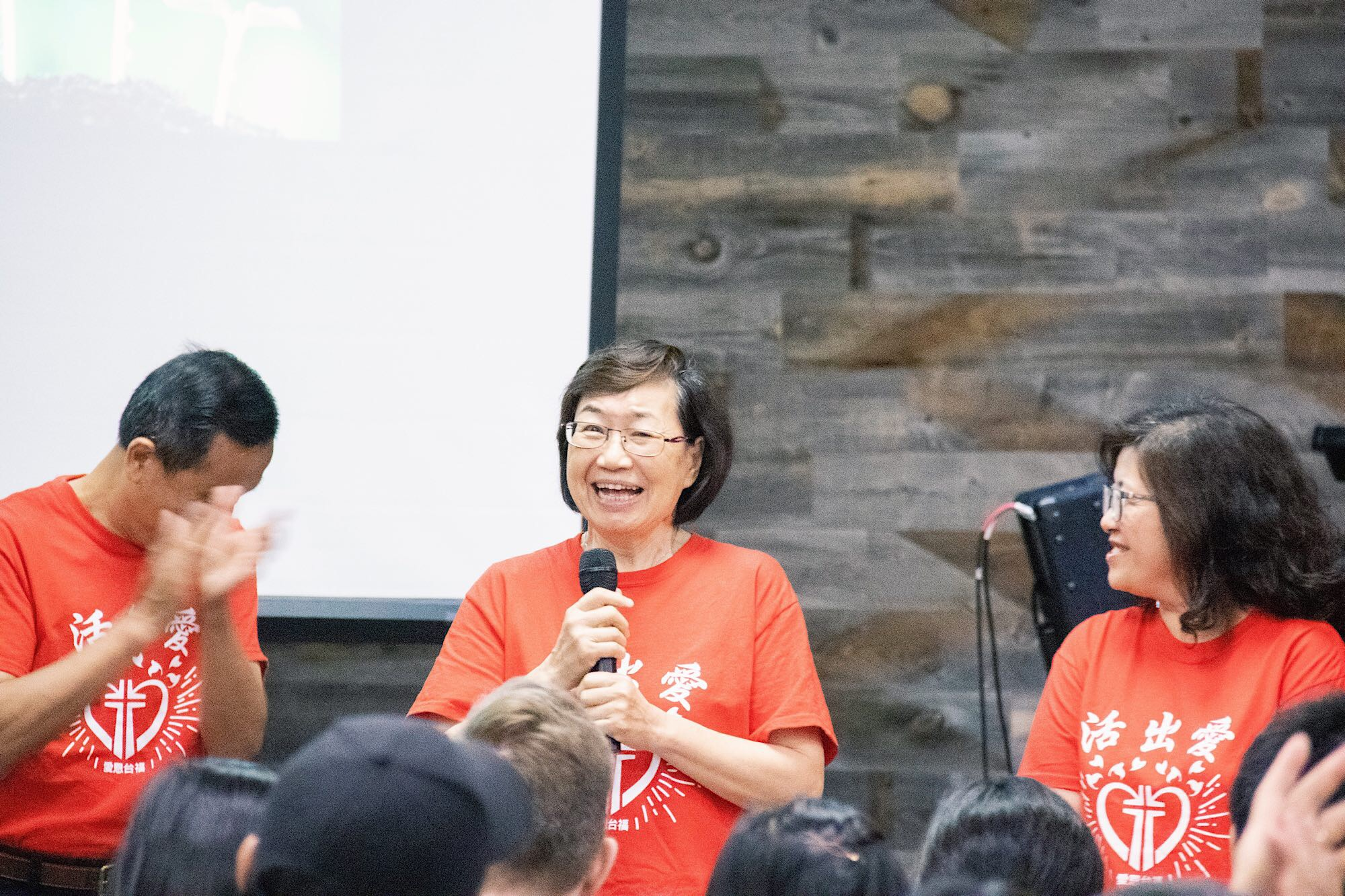 Pastor Ben's mom happens to be the only team member from 1.5G congregation