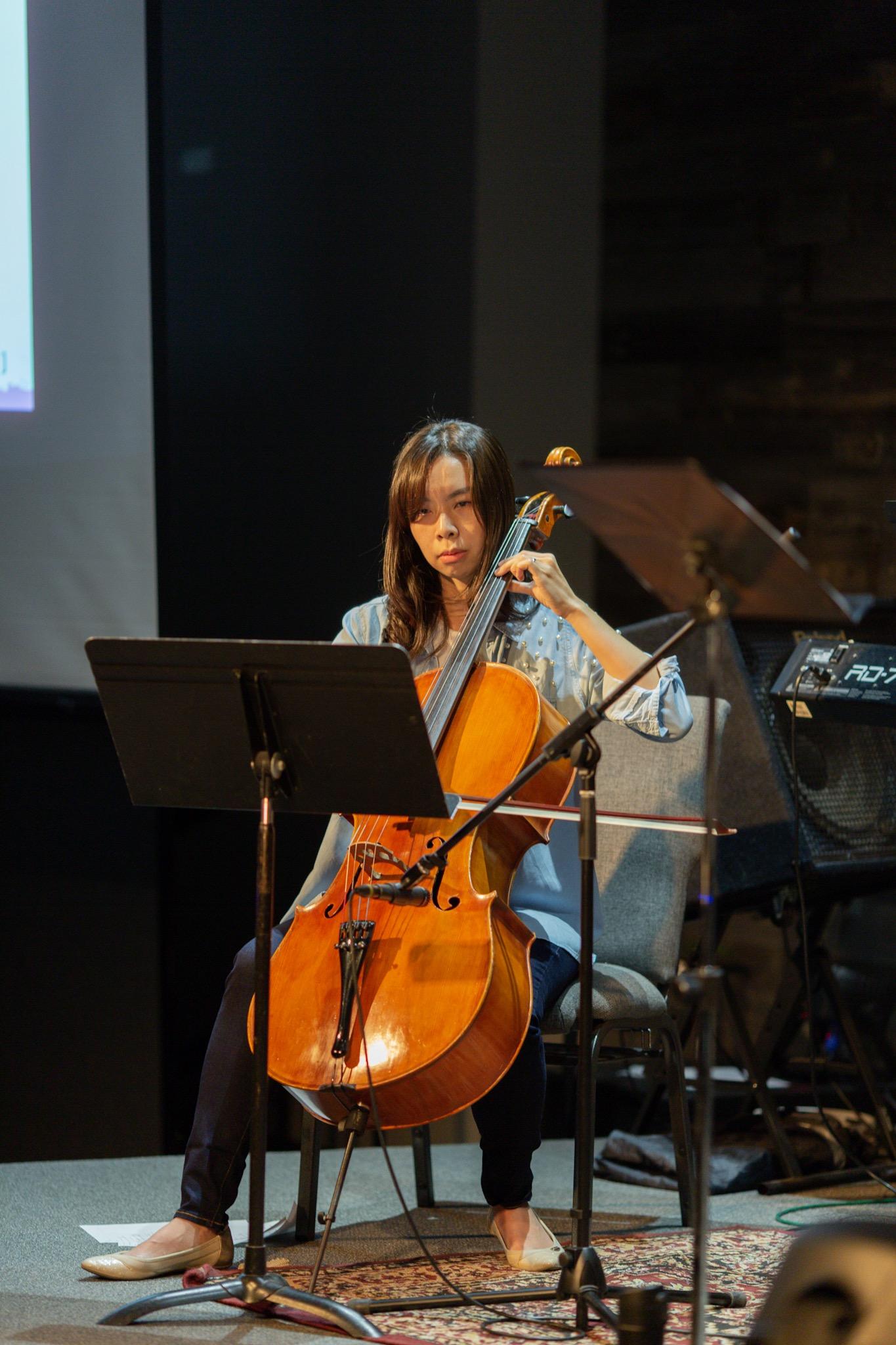 Iris the cellist