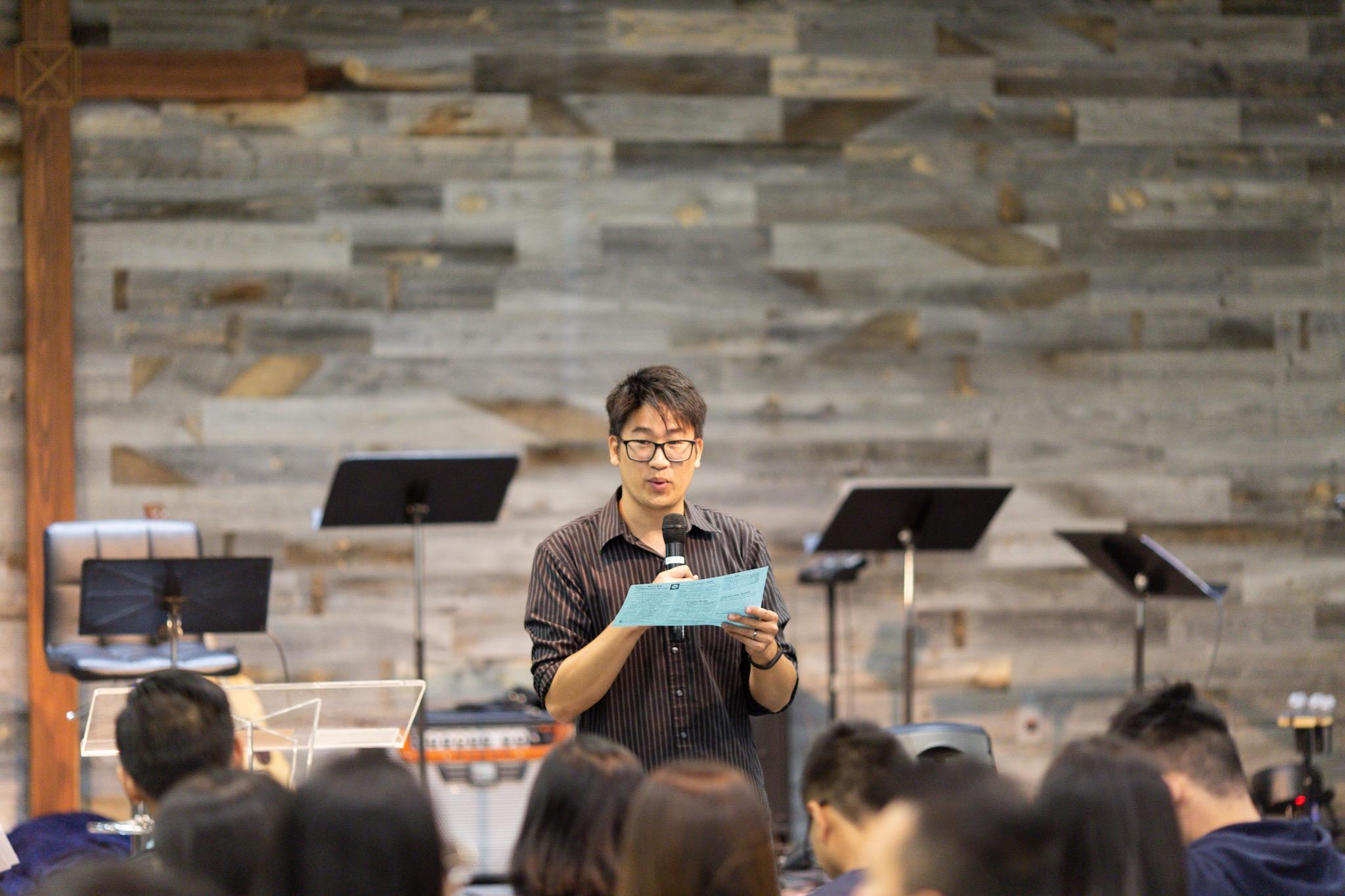 Elder Peter is today's presider