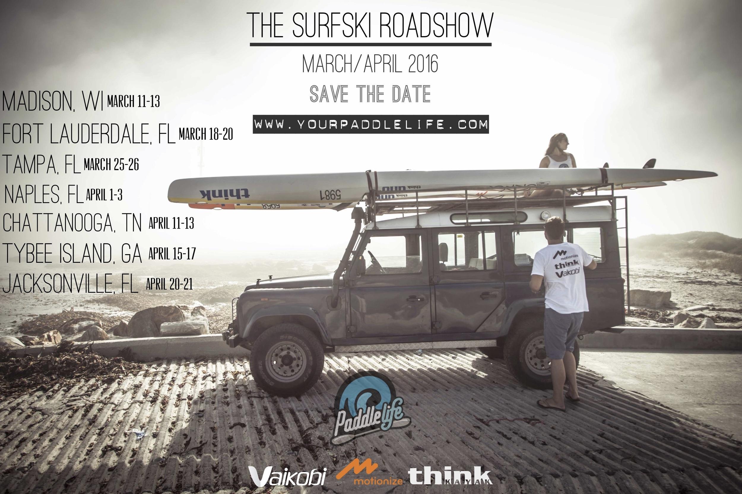 The Surfski Roadshow