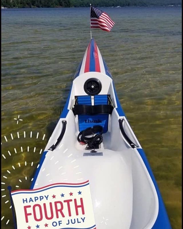 Happy 4th of July everyone!  @thinkkayak.global 📸@ThinkkayakUSA