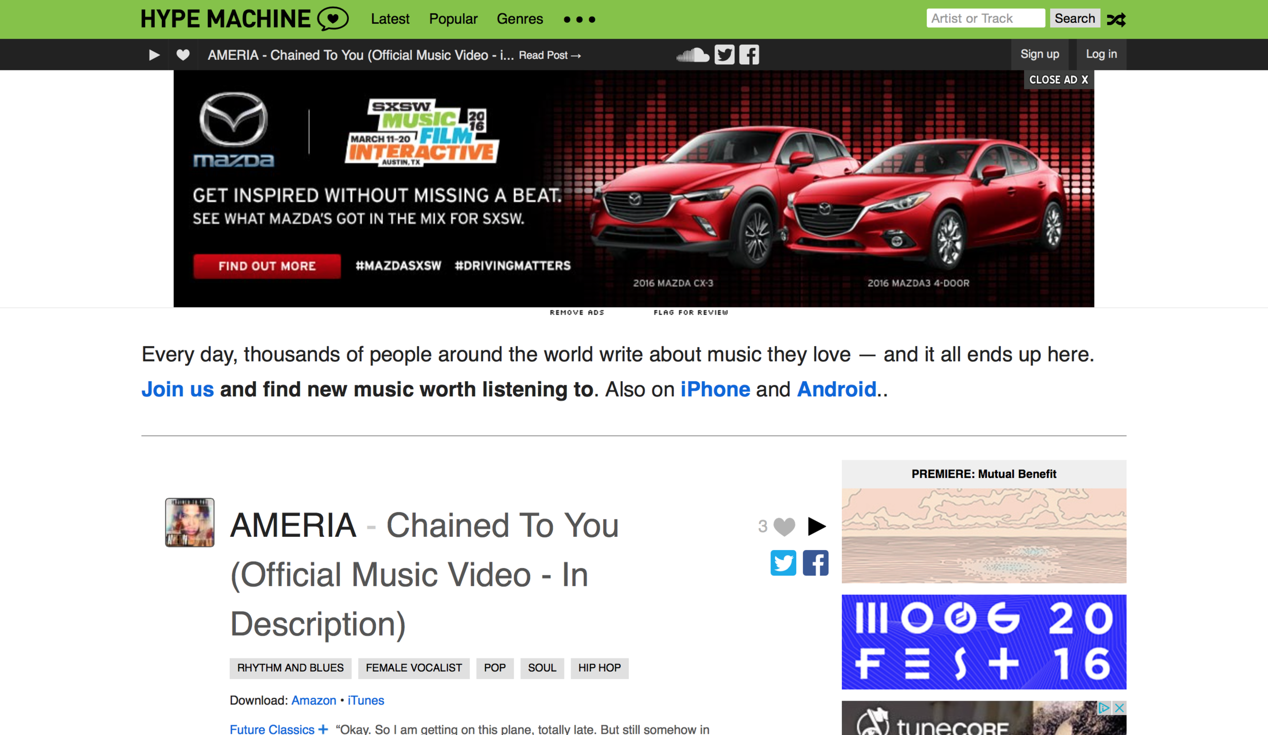 """Chained to you"" on HYPEM"