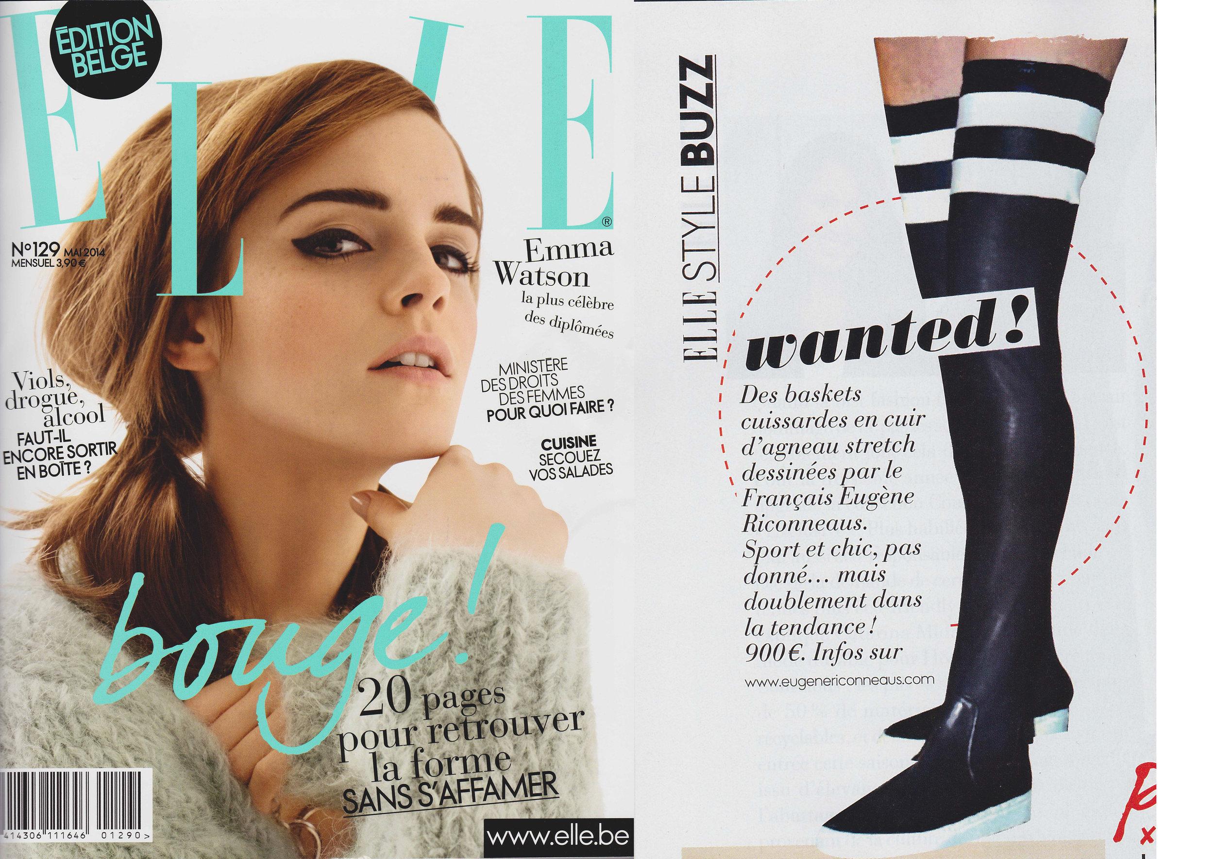 Copy of Elle Belgium