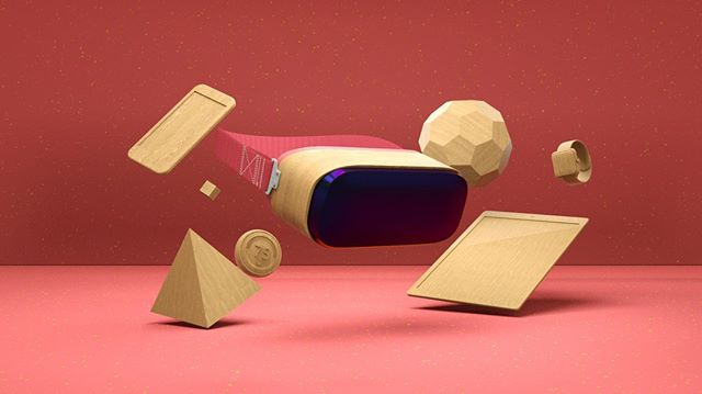 I want these VR glasses - Mobile future. ⠀ Work done together with @istrategylabs⠀ .⠀ .⠀ .⠀ .⠀ .⠀ .⠀ #c4d #cinema4d #octane  #octanerender  #vr #3d #3dart #illustration #inspiration