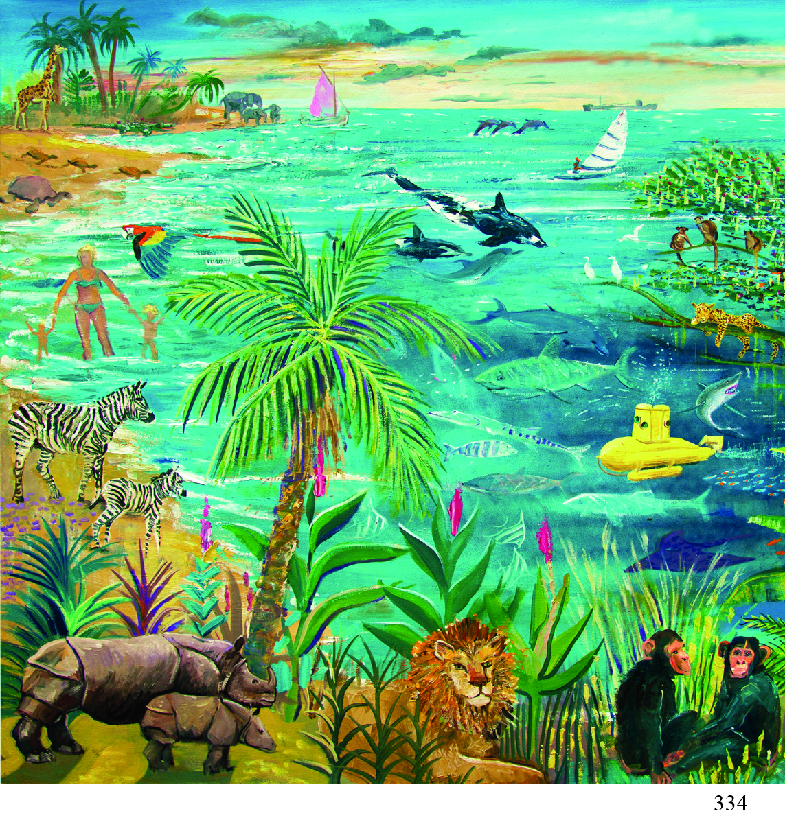 334 tropical Creatures ArtyCards Oct 18.jpg