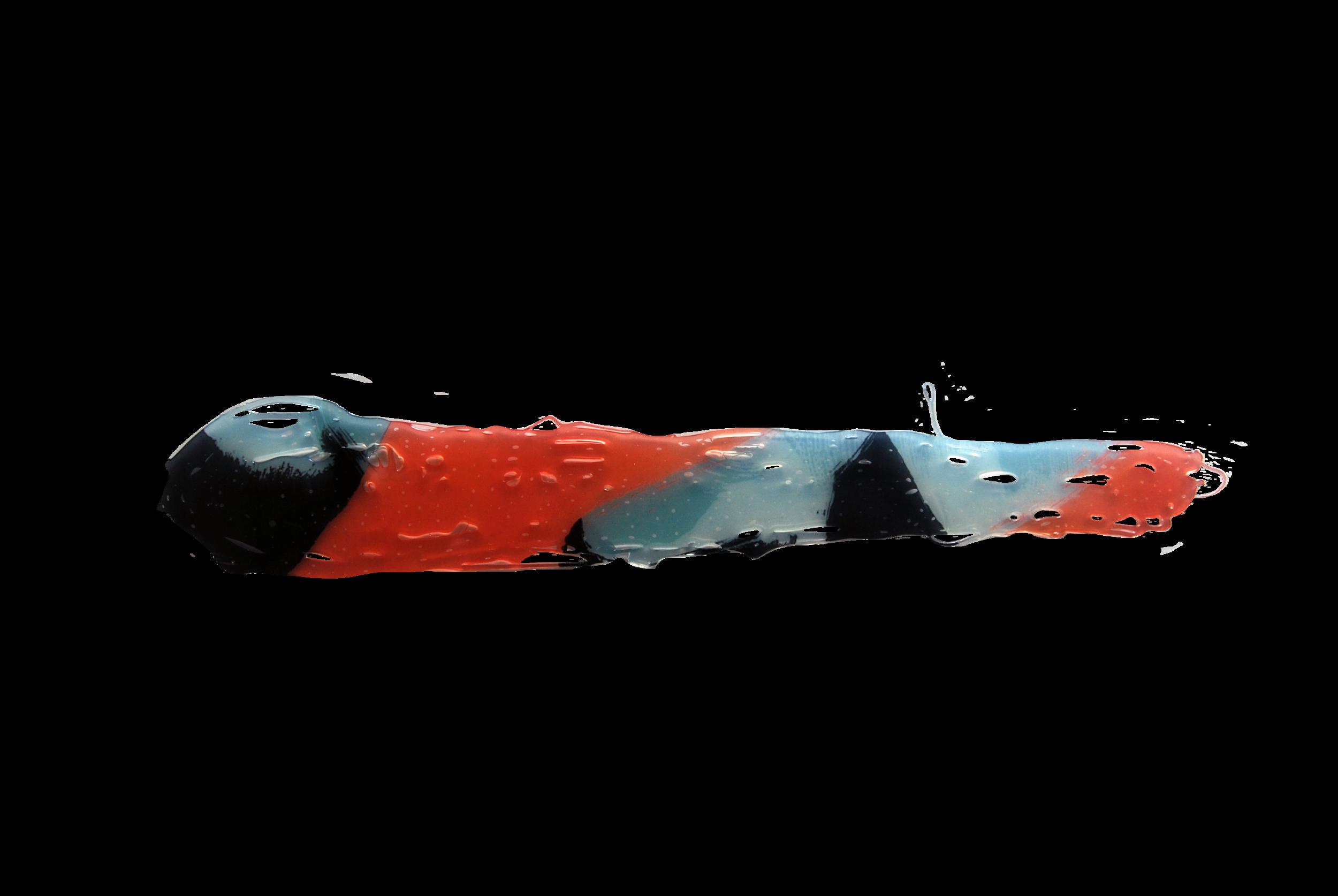 TRANSFER nº3, 2015, Transferencia Digital sobre cola termofusible. 5,5 x 38 cm