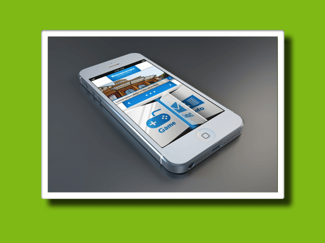 3D Interface<br>-Mockup-<strong>APP Design</strong>