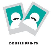 Twice the prints. Twice the fun