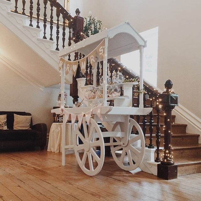 Our new Sweet Cart is having it's first outing at @hirst_priory today!  We have a range of hire products now available for weddings and parties. DM us or visit us at www.thepicturehouseco.com for further details.  __ #weddinghire #lincolnshireweddings #LincolnshirePhotoBooth #scunthorpephotobooth #sweetcart #weddinginspo #weddinghire