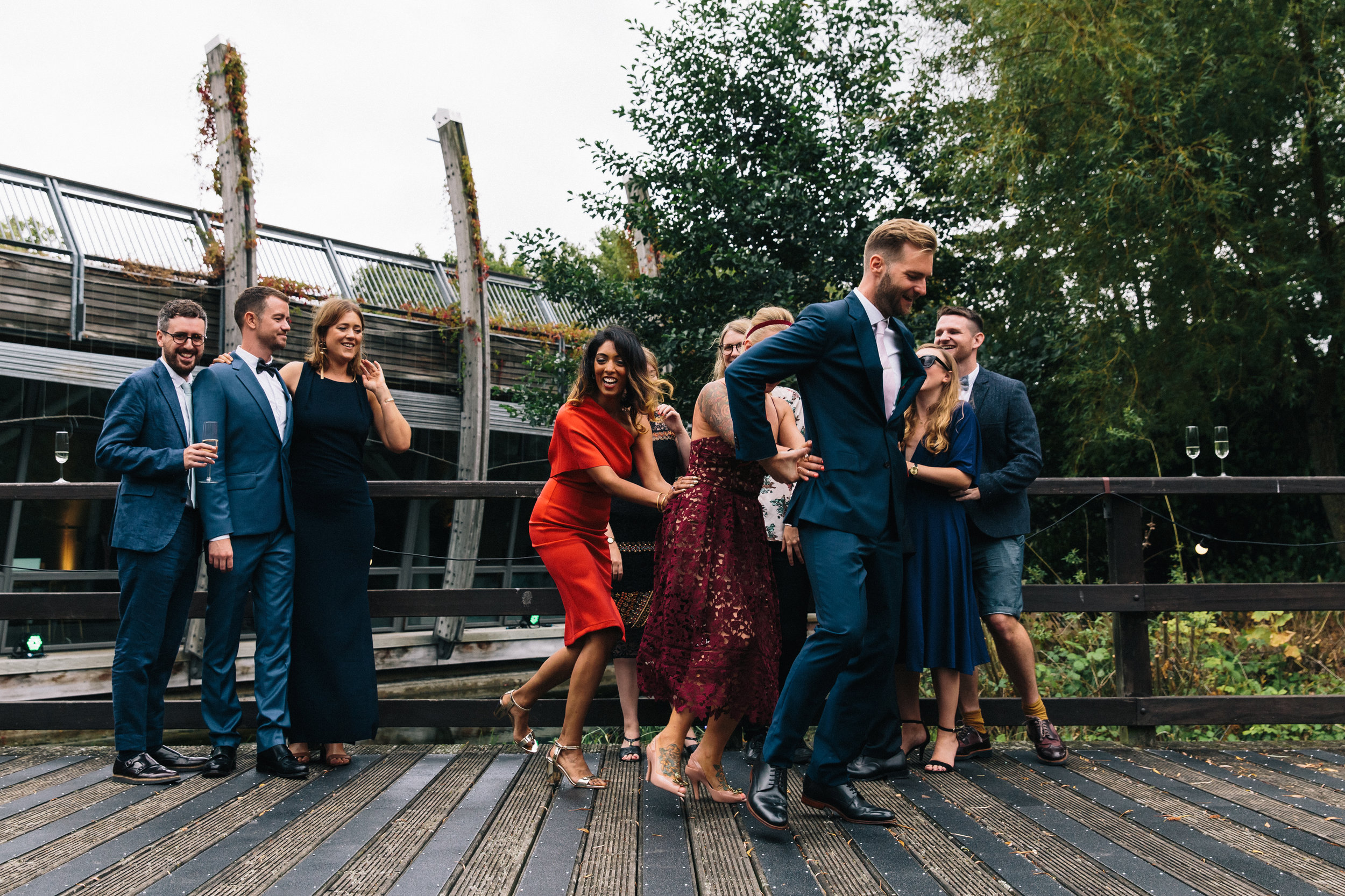 Mile End Wedding