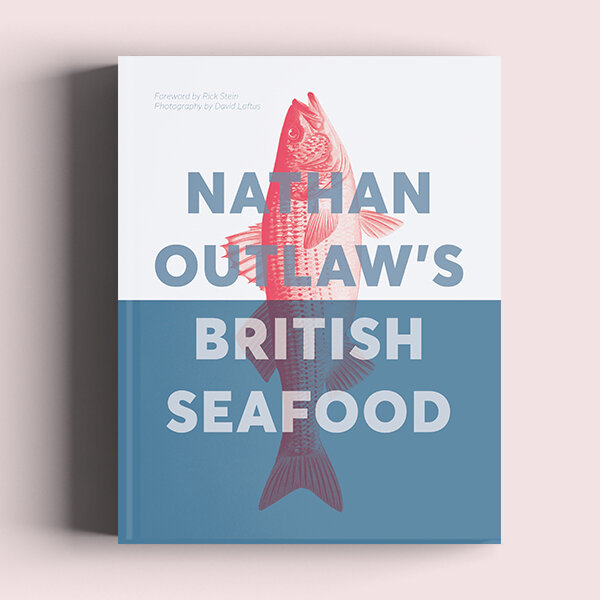 Nathan Outlaw's British Seafood    September 2019   Designed the cover for British Seafood at Quadrille Publishing.