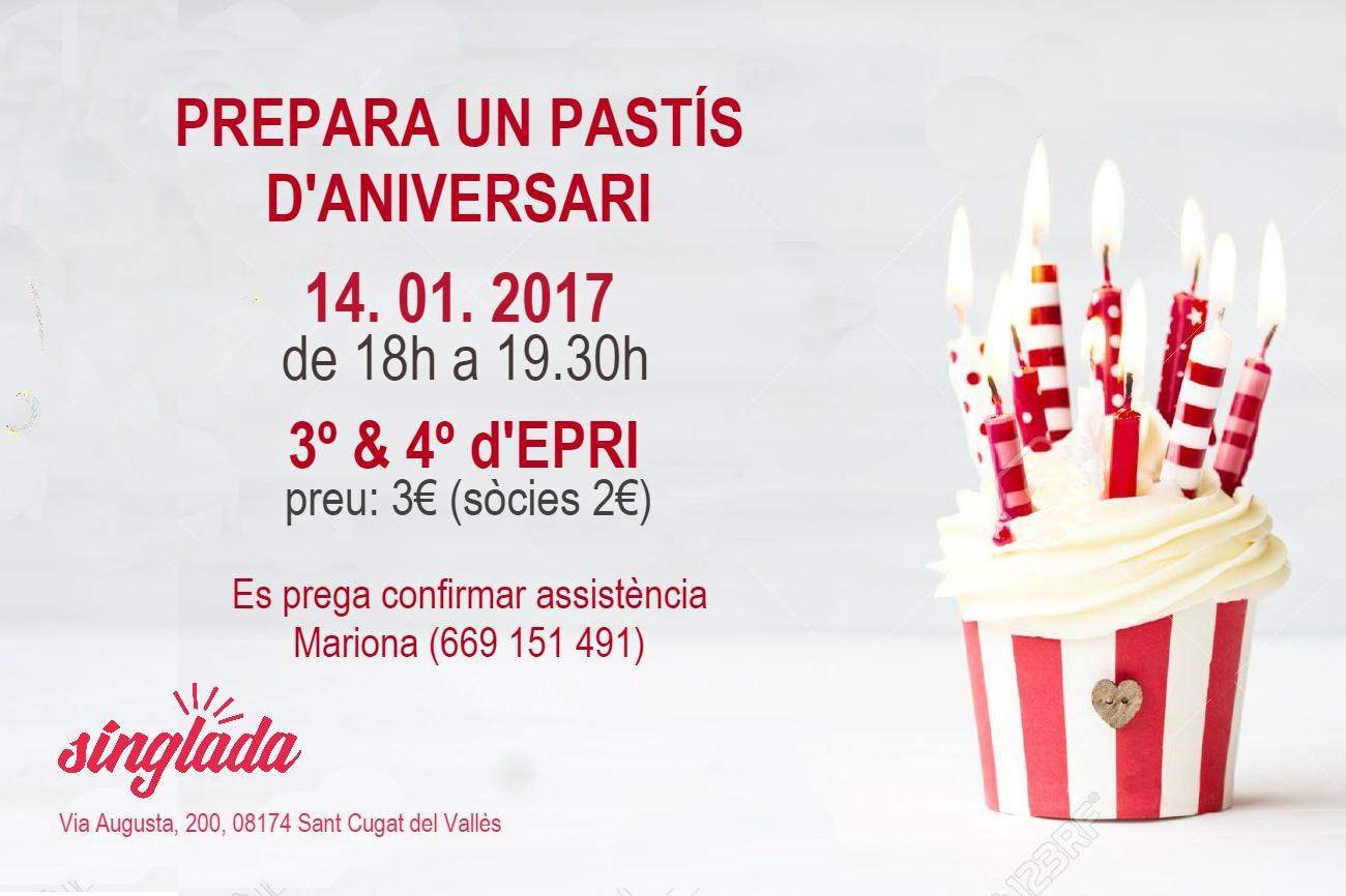 Aprende a preparar un pastel de Aniversario !!!