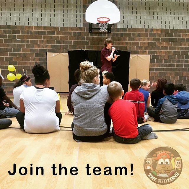 """""""Impact our generation today to build towards a better tomorrow."""" Can you get behind a vision like that? If so, we would love to have you volunteer at one of our sites or on one of our home visit teams for our 8 week winter semester starting in January. Please email info@KiDZONEkw.com for your application or for more info. #kidzonekw"""